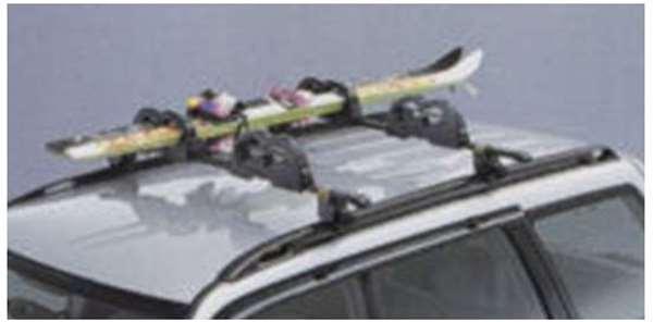 『フォレスター』 純正 SF系 スキーアタッチメント(スタンダードタイプ・2セット入り) RFRB パーツ スバル純正部品 キャリア別売り Forester オプション アクセサリー 用品