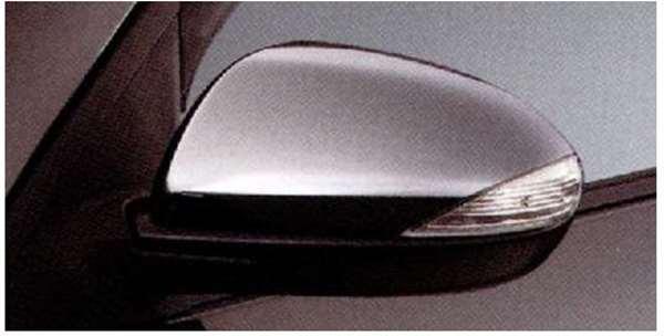 『アクセラ』 純正 BL5FW BLEFW BLEAW ドアミラーガーニッシュ(メッキ) LEDウインカー付車用 パーツ マツダ純正部品 ドアミラーカバー サイドミラーカバー axela オプション アクセサリー 用品