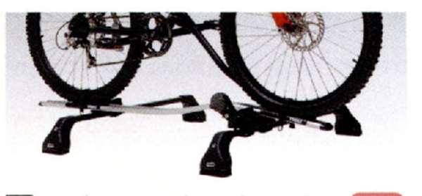 『アクセラ』 純正 BL5FW BLEFW BLEAW サイクルアタッチメント パーツ マツダ純正部品 axela オプション アクセサリー 用品
