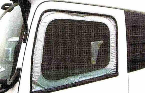 クオン パーツ モスキートネット 左右セット 日産ディーゼル純正部品 CD系~ オプション アクセサリー 用品 純正 ネット