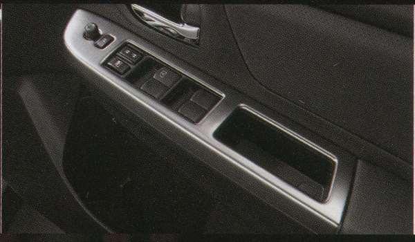 『XVハイブリッド』 純正 GPE パワーウインドゥスイッチパネル 4枚セット パーツ スバル純正部品 内装ベゼル パワーウィンドウパネル オプション アクセサリー 用品