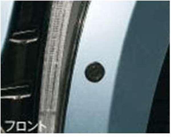 『コペン』 純正 LA400K コーナーセンサー(フロント+リヤセット ボイス4センサー付) パーツ ダイハツ純正部品 危険察知 接触防止 セキュリティー copen オプション アクセサリー 用品