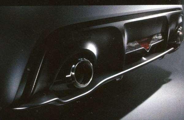 『BRZ』 純正 ZC6 リヤアンダーディフューザー パーツ スバル純正部品 カスタム エアロパーツ オプション アクセサリー 用品