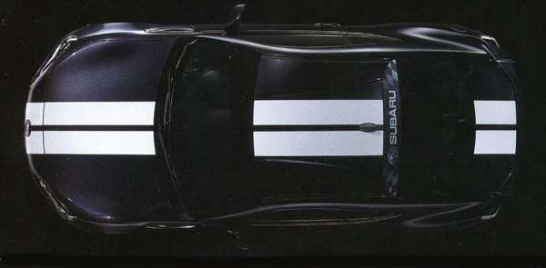 『BRZ』 純正 ZC6 ボディグラフィック・センター パーツ スバル純正部品 ステッカー シール ワンポイント オプション アクセサリー 用品