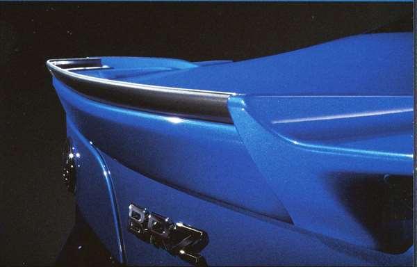 『BRZ』 純正 ZC6 STI ガーニーフラップ パーツ スバル純正部品 オプション アクセサリー 用品