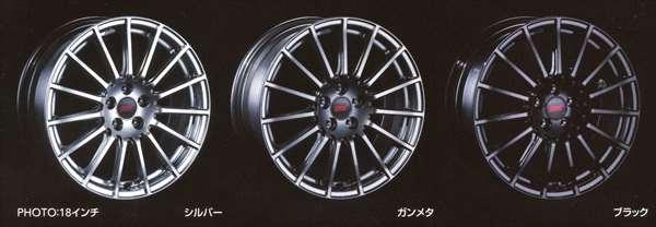 『BRZ』 純正 ZC6 STI アルミホイール 17インチ ※1本につき パーツ スバル純正部品 安心の純正品 オプション アクセサリー 用品