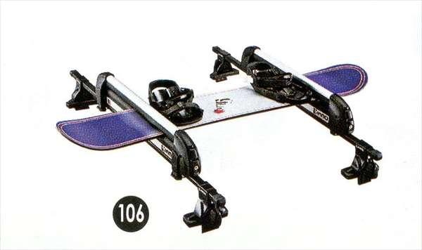 『タント』 純正 LA600S スキー/スノーボードアタッチメント(平積み) パーツ ダイハツ純正部品 キャリア別売り tanto オプション アクセサリー 用品