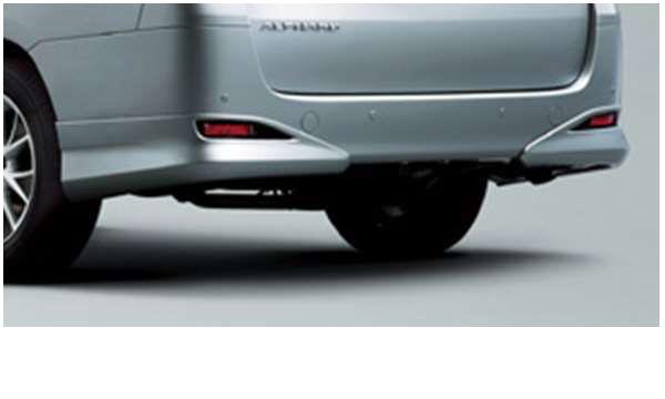 『アルファード』 純正 GGH20 ANH20 リヤバンパースポイラー パーツ トヨタ純正部品 alphard オプション アクセサリー 用品