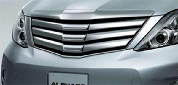 『アルファード』 純正 GGH20 ANH20 メッキグリル パーツ トヨタ純正部品 alphard オプション アクセサリー 用品