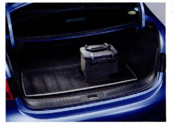 『ブルーバード シルフィー』 純正 G11 KG11 NG11 ラゲッジシステム(トレイセット)ラゲッジトレイ+パーティション2個セット+防水セット パーツ 日産純正部品 荷室 トレー ラゲージ SYLPHY オプション アクセサリー 用品