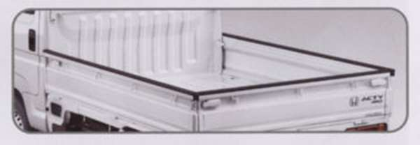 『アクティ』 純正 HA8 HA9 ゲートプロテクター(ラバー製) パーツ ホンダ純正部品 荷台モール アオリ acty オプション アクセサリー 用品