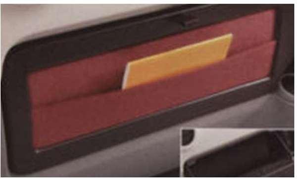 『ブーン』 純正 M601S M600S M610S インパネボックスリッド(レッド) パーツ ダイハツ純正部品 収納 小物入れ boon オプション アクセサリー 用品