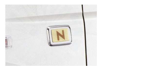 『N-WGN』 純正 JH1 フェンダーエンブレム 左右セット パーツ ホンダ純正部品 ドレスアップ ワンポイント オプション アクセサリー 用品