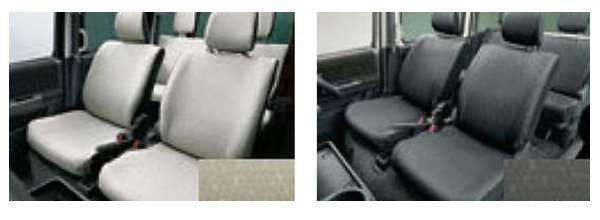 『ディアスワゴン』 純正 S321N S331N 撥水シートカバー 1台分 パーツ スバル純正部品 座席カバー 汚れ シート保護 オプション アクセサリー 用品