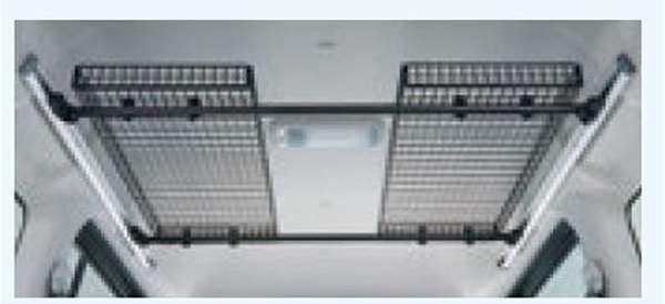『ディアスワゴン』 純正 S321N S331N ネットラック(マルチレール用) パーツ スバル純正部品 バー収納 スペース オプション アクセサリー 用品