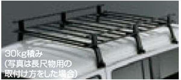 『ディアスワゴン』 純正 S321N S331N ルーフキャリア(30kg積み) パーツ スバル純正部品 オプション アクセサリー 用品