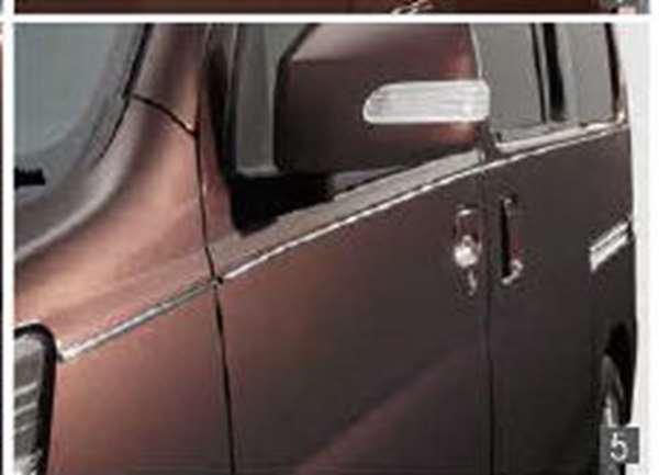『アトレーワゴン』 純正 S321G S331G サイドピンモール パーツ ダイハツ純正部品 オプション アクセサリー 用品