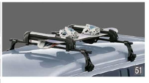 『アトレーワゴン』 純正 S321G S331G スキー/スノーボードアタッチメント(平積み) パーツ ダイハツ純正部品 キャリア別売りキャリア別売り オプション アクセサリー 用品
