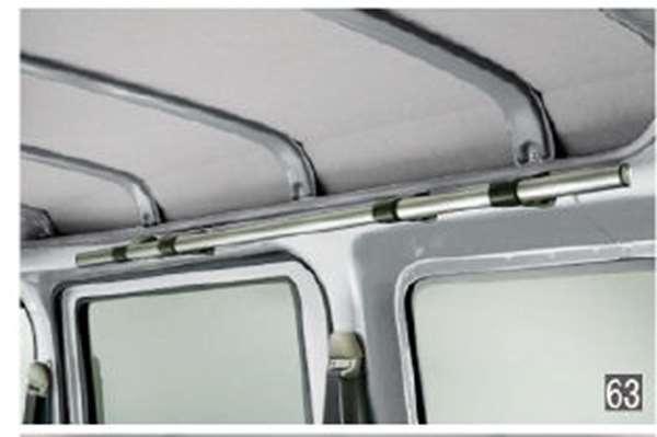 『アトレーワゴン』 純正 S321G S331G アッパーシステムレール パーツ ダイハツ純正部品 オプション アクセサリー 用品