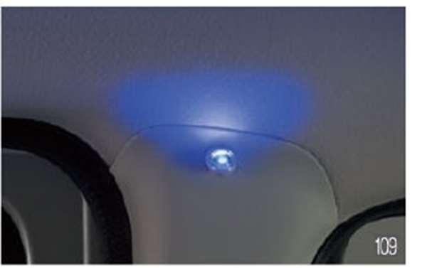 『アトレーワゴン』 純正 S321G S331G LEDピラーイルミネーション パーツ ダイハツ純正部品 照明 ライト オプション アクセサリー 用品