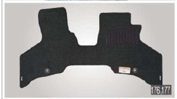 『アトレーワゴン』 純正 S321G S331G カーペットマット(1台分)フロント1枚・リヤ1枚 スローパー用 パーツ ダイハツ純正部品 フロアカーペット カーマット カーペットマット オプション アクセサリー 用品