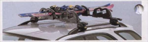 『インプレッサ』 純正 GC系 GF系 スキーアタッチメント(スタンダードタイプ・2セット入り) パーツ スバル純正部品 キャリア別売り impreza オプション アクセサリー 用品