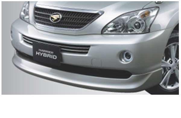『ハリアーハイブリッド』 純正 MHU38 フロントスポイラー パーツ トヨタ純正部品 harrier オプション アクセサリー 用品
