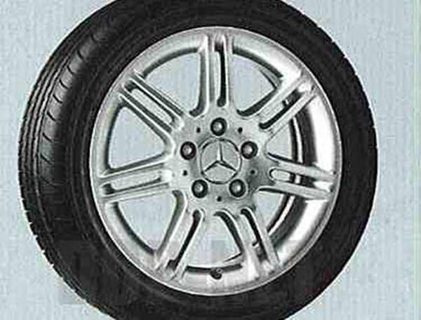 Aクラス 7ツインスポーク ・ アルミホイールの6J×16ET46の195 / 55R161本からの販売 ベンツ純正部品 Aクラス パーツ w169 パーツ 純正 ベンツ ベンツ純正 ベンツ 部品 オプション