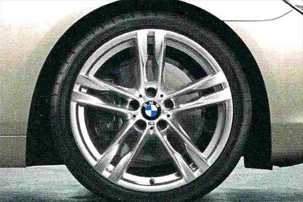 6 GRAN COUPE パーツ ダブルスポーク・スタイリング373M ホイール単体9J×20(リヤ) BMW純正部品 6A30 6B44 オプション アクセサリー 用品 純正 送料無料