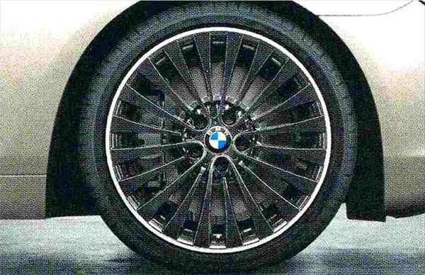 6 GRAN COUPE パーツ マルチスポーク・スタイリング410バイカラー(ブラック/ポリッシュ) ホイール単体9J×20(リヤ) BMW純正部品 6A30 6B44 オプション アクセサリー 用品 純正 送料無料