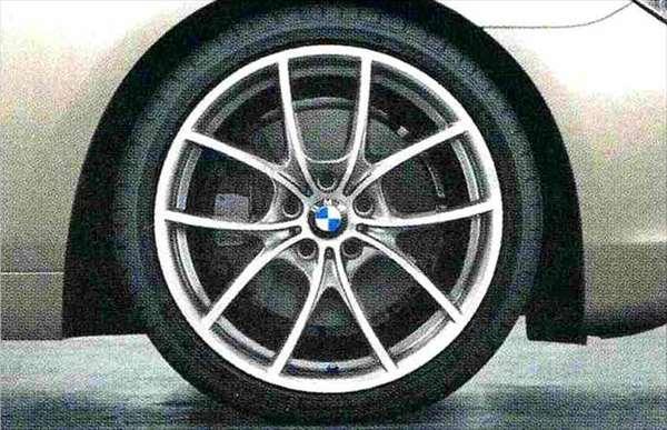 6 GRAN COUPE パーツ Vスポーク・スタイリング356バイカラー(フェリック・グレー/ポリッシュ) ホイール単体8.5J×20(フロント) BMW純正部品 6A30 6B44 オプション アクセサリー 用品 純正 送料無料