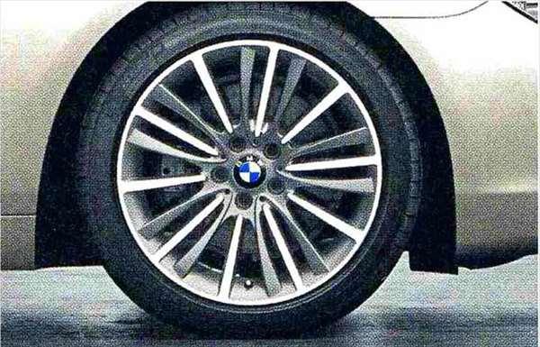 6 GRAN COUPE パーツ ダブルスポーク・スタイリング423 ホイール単体9J×19(リヤ) BMW純正部品 6A30 6B44 オプション アクセサリー 用品 純正 送料無料