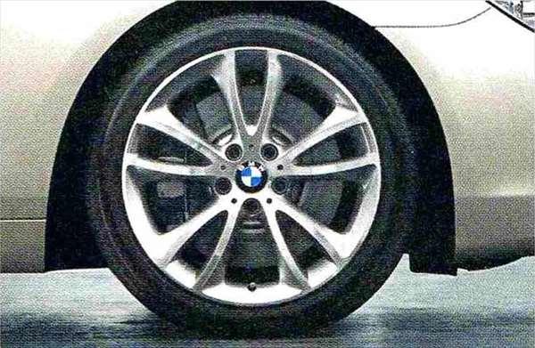 6 GRAN COUPE パーツ Vスポーク・スタイリング366 ホイール単体9J×19(リヤ) BMW純正部品 6A30 6B44 オプション アクセサリー 用品 純正 送料無料