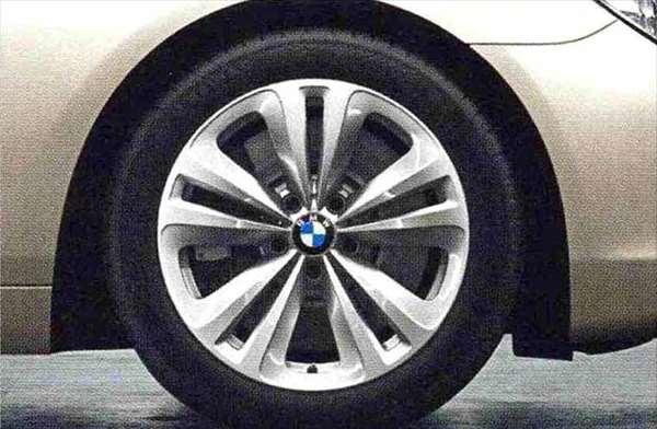 6 GRAN COUPE パーツ ダブルスポーク・スタイリング234 ホイール単体8J×18(フロント/リヤ) BMW純正部品 6A30 6B44 オプション アクセサリー 用品 純正 送料無料