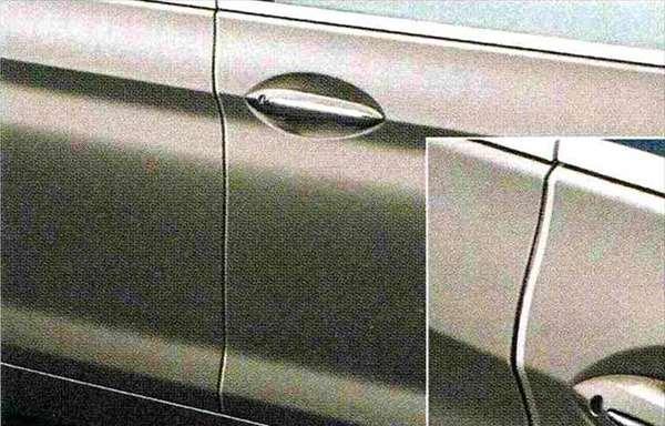 6 GRAN COUPE パーツ ドア・エッジ・プロテクション BMW純正部品 6A30 6B44 オプション アクセサリー 用品 純正
