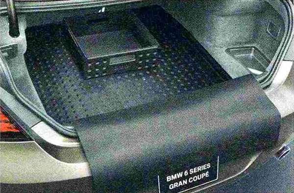 6 GRAN COUPE パーツ ラゲージ・コンパートメント・マット(ラゲージ・コンパートメント・ボックス付き) BMW純正部品 6A30 6B44 オプション アクセサリー 用品 純正 マット