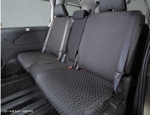 『セレナ』 純正 HC27 HFC27 GC27 GFC27 シートカバー ガソリン車用 シートバックテーブル無車 フロント+セカンドシート仕様+サード仕様 パーツ 日産純正部品 座席カバー 汚れ シート保護 オプション アクセサリー 用品