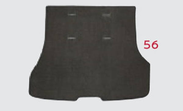 『セレナ』 純正 HC27 HFC27 GC27 GFC27 ラゲッジカーペット(スタンダード)全車用 パーツ 日産純正部品 ラゲージカーペット ラゲージマット シート オプション アクセサリー 用品