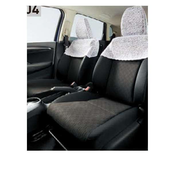 『フィット』 純正 GP5 GP6 シートカバー ハーフタイプ ※レース地 パーツ ホンダ純正部品 座席カバー 汚れ シート保護 FIT オプション アクセサリー 用品