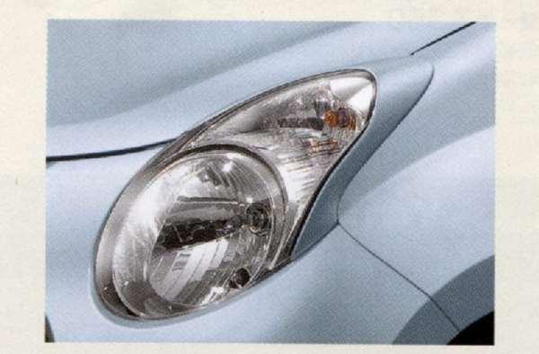 『キャロル』 純正 HB25S ヘッドランプガーニッシュ 左右セット パーツ マツダ純正部品 ヘッドライトパネル ドレスアップ カスタム carol オプション アクセサリー 用品