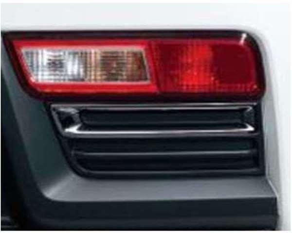 『アルトワークス』 純正 HA36S リヤバンパーガーニッシュ(ブラックメッキ) パーツ スズキ純正部品 メッキ リアガーニッシュ パネル カスタム alto オプション アクセサリー 用品