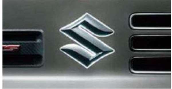 『アルトワークス』 純正 HA36S エンブレムイルミネーション クロームメッキ パーツ スズキ純正部品 メッキ 飾り ワンポイント alto オプション アクセサリー 用品