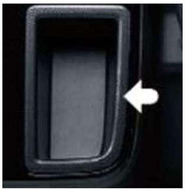 『アルトワークス』 純正 HA36S インパネポケットガーニッシュ(カーボン調) MT車用 パーツ スズキ純正部品 カーボン alto オプション アクセサリー 用品