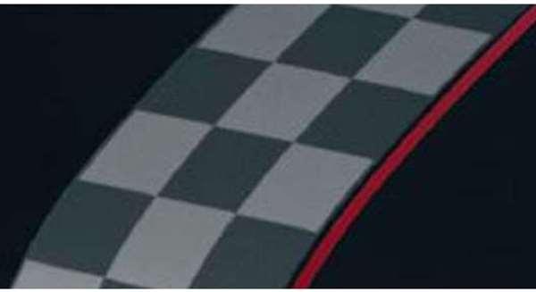 『アルトワークス』 純正 HA36S フード&デカール チェッカー ※ステッカーのみ パーツ スズキ純正部品 カーボン ステッカー シール ワンポイント alto オプション アクセサリー 用品