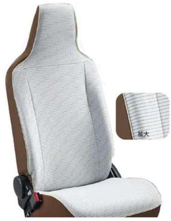 『アルトワークス』 純正 HA36S シートカバー(カジュアルタウン) 1台分(フロント・リヤ)セット パーツ スズキ純正部品 座席カバー 汚れ シート保護 alto オプション アクセサリー 用品