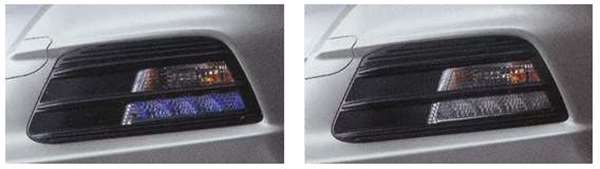 『インサイト』 純正 ZE2 LEDフロントアクセサリーライト パーツ ホンダ純正部品 insight オプション アクセサリー 用品