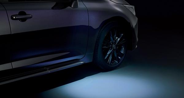 『カローラ ツーリング』 純正 ZWE211W ZWE214W ZRE212W NRE210W ウエルカムライト(運転席・助手席) パーツ トヨタ純正部品 オプション アクセサリー 用品