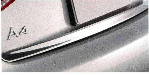 A4・S4 パーツ トランクエッジガーニッシュ アウディ純正部品 8KCDN オプション アクセサリー 用品 純正