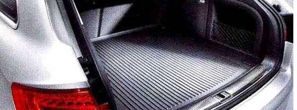 A4・S4 パーツ ラゲッジラバーマット セダン用 アウディ純正部品 8KCDN オプション アクセサリー 用品 純正 マット