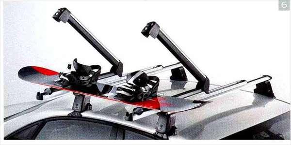 A4・S4 パーツ スキー&スノーボードホルダー(ラージタイプ)*写真はプルアウト式 アウディ純正部品 8KCDN オプション アクセサリー 用品 純正